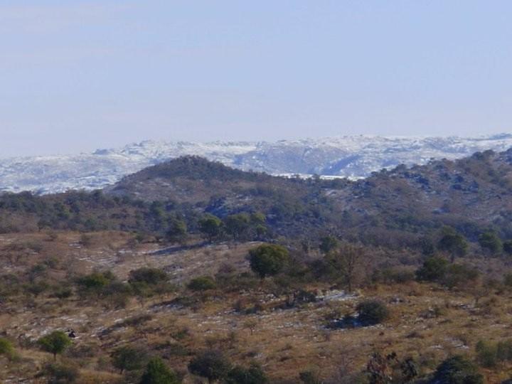 Alpa Corral nieve en las sierras