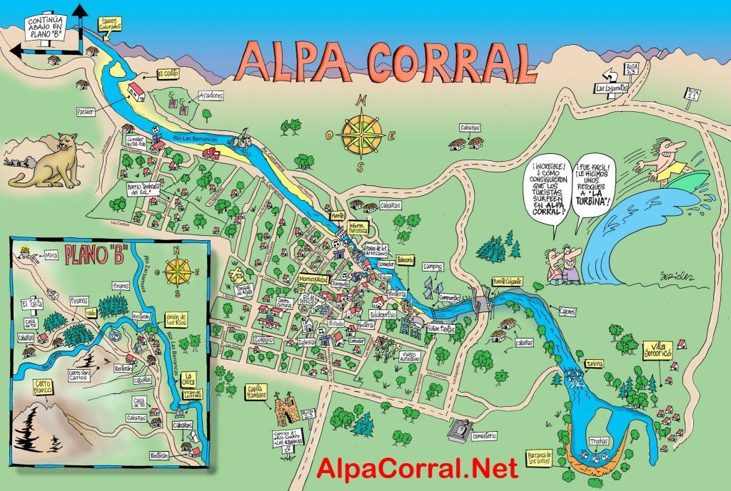Alpa Corral Plano Jericles / Carlos Giosue