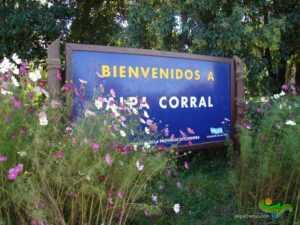 Las Lagunitas Alpa Corral Cordoba Camino Como Llegar Carten de Bienvenidos a Alpa Corral