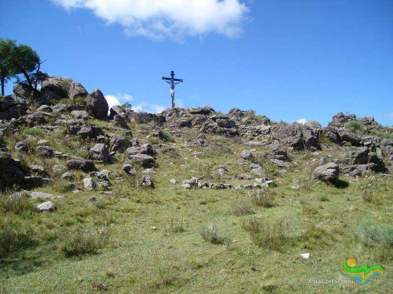 Las Lagunitas Alpa Corral Cordoba Camino Como Llegar Cruz de Hierro