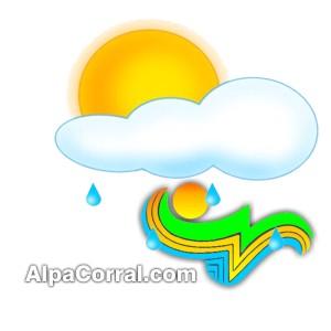Logo Alpa Corral Clima Pronostico del Tiempo