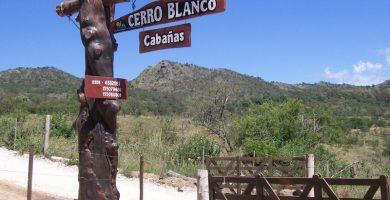 Cabañas Cerro Blanco Alpa Corral Union de los Rios cartel