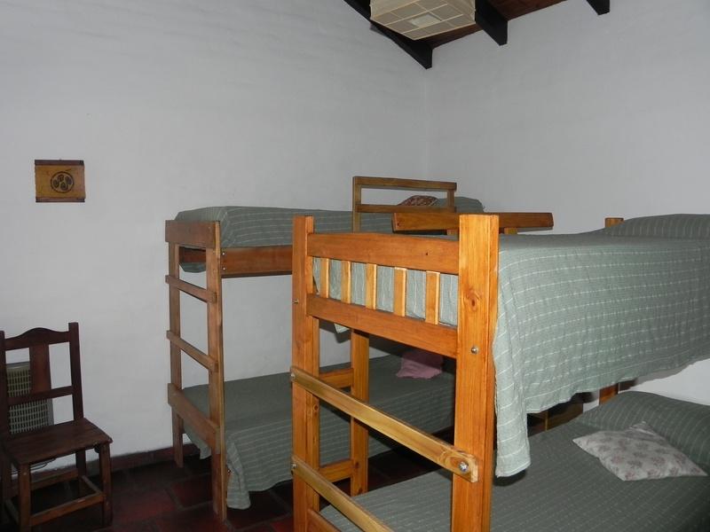 Alojamiento Cabañas Alpa Corral Los Alcornoques dormitorio