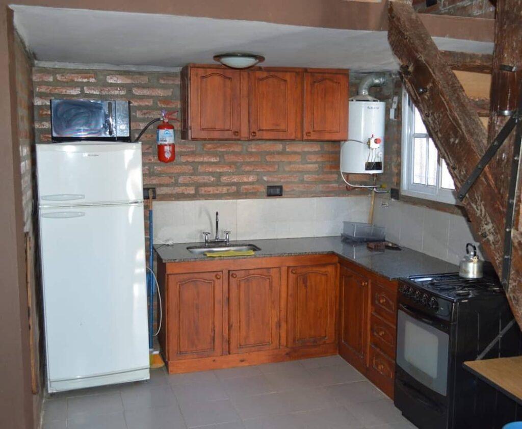 Cabanas Altos de Alpa Corral cocina