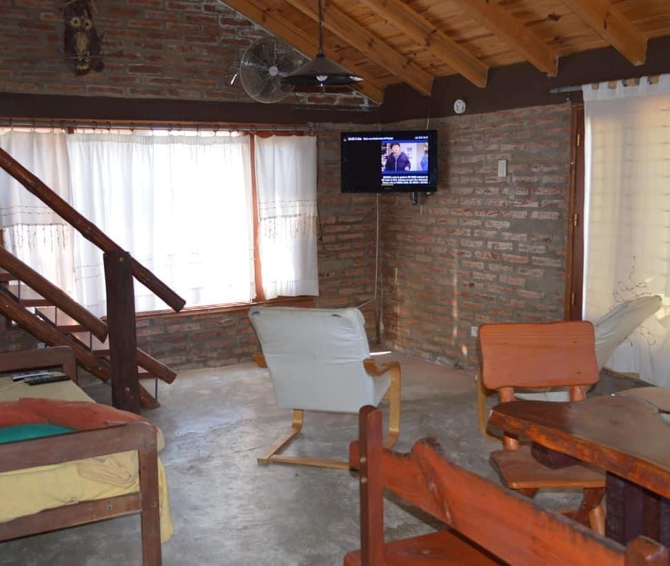 Cabanas Altos de Alpa Corral living