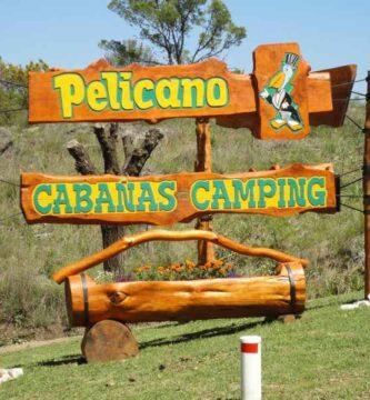 Camping El Pelicano Alpa Corral Ingreso