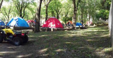 Camping El Pelicano Alpa Corral Lugar de Acampe