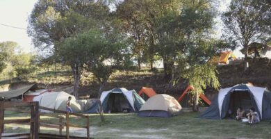 Camping Manantiales Alpa Corral Lugar de Acampe