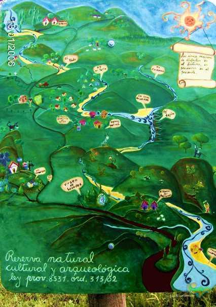 Mapa Alpa Corral Reserva Natural